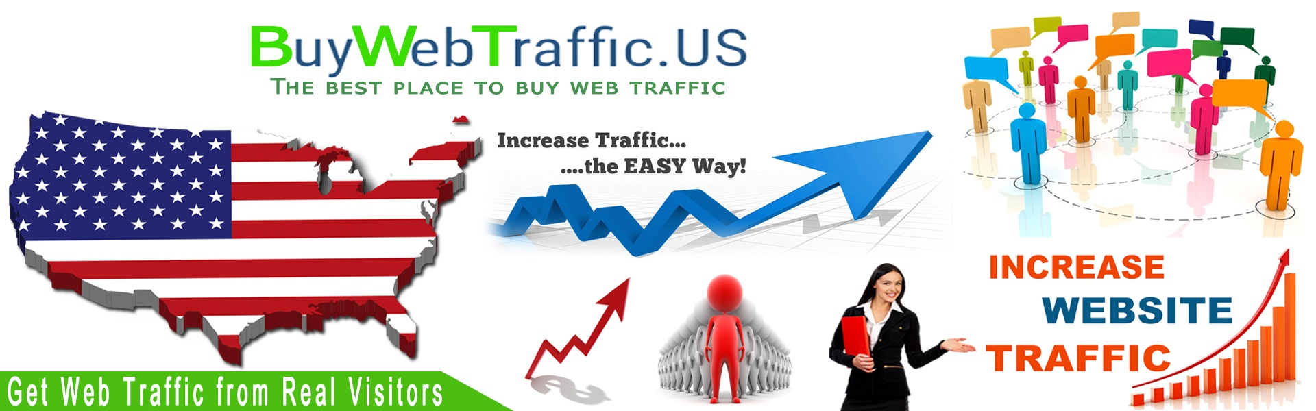 BuyWebTraffic.US main page